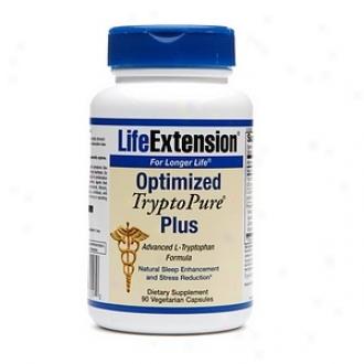 Life Extension Optimized Tryptopure Plus, Vegetarian Capsules