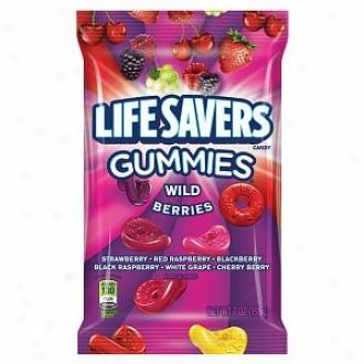 Lifesavers Gummies Candy, Uncivilized Berries