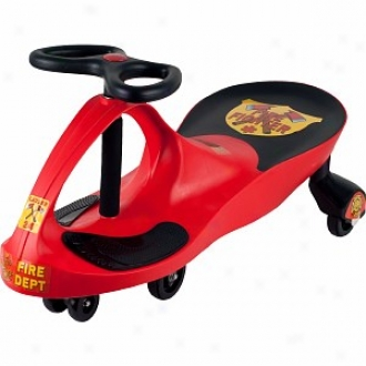 Lil' Rider Rescue Firefihhter Wiggle Ride-on Car Red Abes 3+