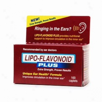 Lipo-flavonoid Plus Dietary Supplement, For Ear Health*