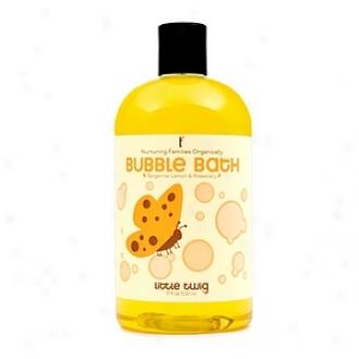 Little Twig Organic Bubble Bath, Tangerine, Lemon & Rosemary