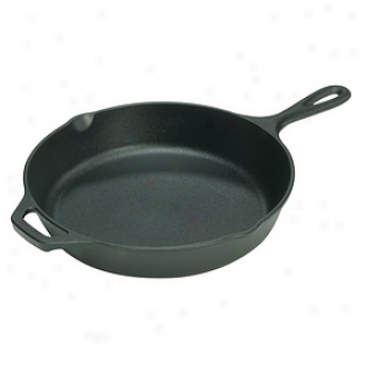 Lodge 13.25  Seasoned Skillet With Assist Handle L12sk3