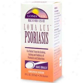 Loma Lux Homeopathic Psoruasis Relief Liquid
