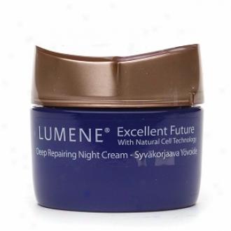 Lumene Excellent Future Deep Repairing Night Cream, All Skin Types