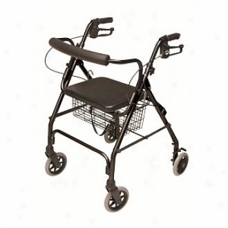 Lumex Bariatri Rollator-black, Over Weight, Heavy Weigh5, Overweight