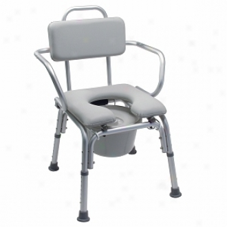 Lumex Pdded Somno Bath Seat-300# Capacity-with Arms