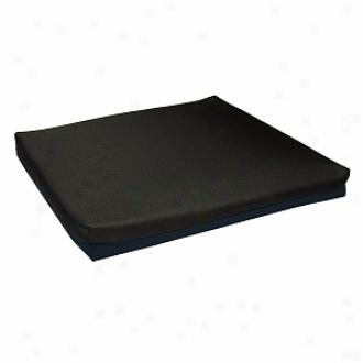 Lumex Wheelchair Cushion Foam 16 X16 X2  Non-aqueaous Gel Core Foam Tolper, Blue