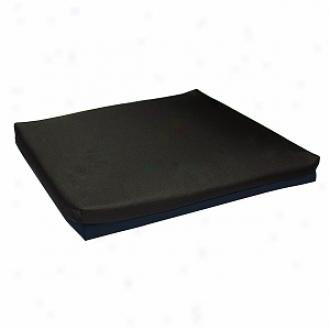 Lumex Wheelchair Cushion Foam 18 X18 X3  Non-aqueaous Gel Core Foam Topper, Blue