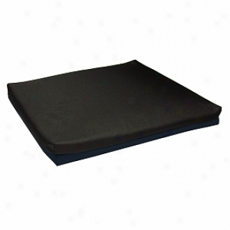 Lumex Wheelchair Cushion Foam 20 X16 X3  Non-qaueaous Gel Core Foam Topper, Blue