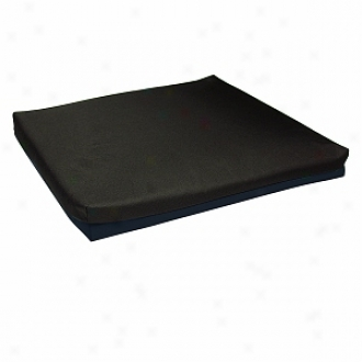 Lumex Wheelchair Cushion Foam 20 X18 X3  Non-zqueaous Gel Heart Froth Topper, Blue