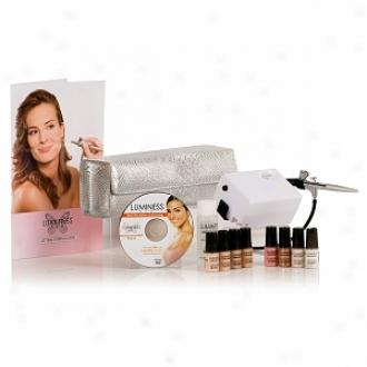 Luminess Air Premium Airbrush Cosmetics Starter Kit, Medium