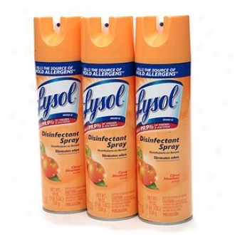 Lysol Disinfectant Spray, Buy 2, Get 1 Free, Citrus Meadows