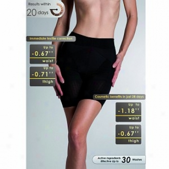 Lytess Corrective Push Up Panty Low Waist L/xl, Black