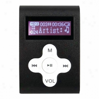 Mach Speed Eclipse 2gb Mp3 Player With Display & Shuffle Model Cld2bk