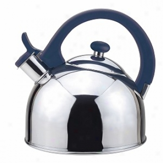 Magefesa Acacia Stainless Steel Tea Kettle 2.1 Qt., Blue