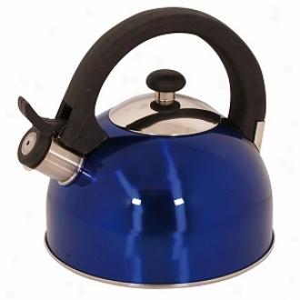 Magefesa Sabal Stainless Steel Tea Kettle 2.1 Qt., Livid