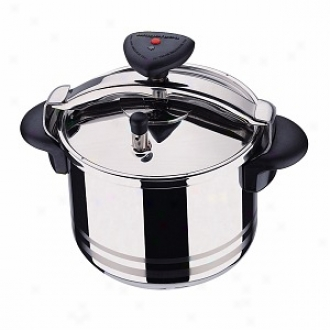 Magefesa Star R Stainless Steel Fast Pressure Cooker 10 Qt.