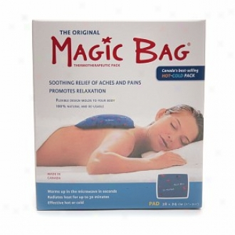 Magic Bag Hot-cold Thermotherapeutic Pack, Square Pad 11 X 9.5 Inches