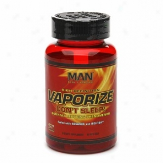 Man Sports Evaporate - Don't Sleep! Body-fat Reducing Appearance, Red-gels