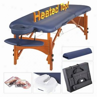 Master Massage 30  Monroe Therma Top Lx Portable Massage Table