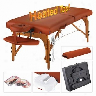Maater Massage 31  Santana Therma Toop Lx Portable Massage Table