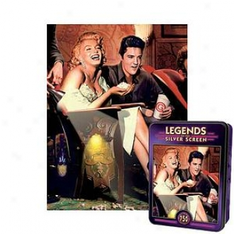 Masterpieces Puzzles Classic Interlude Puzzle In A Tin: 750 Pc Ages 13 And Up