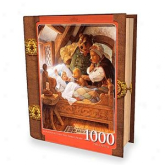 Masterpieces Puzzles Fairytales Book Box Goldilocks And The Three Bdars 1000 Pcs Ages 13+