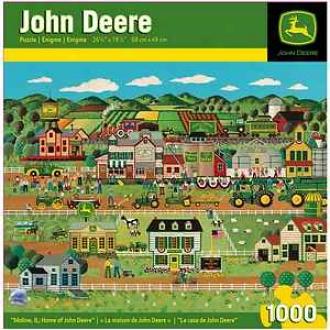 Masterpieces Puzzles John Deere Moline, Il; Home Of John Deere 1000 Pcs Ages 13+
