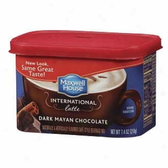 Maxwell House International Cafe Cafe-style Drink Mix, Unilluminated Mayan Chocolate Latte