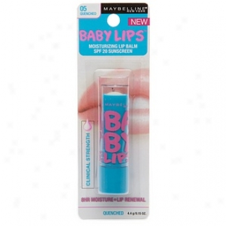 Maybelline Baby Lips Moisturziing Lip Balm Spf 20 Sunscreen, Quenched