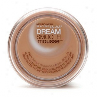 Maybelline Dream Smooth Mousse Ultra Hyydrating, Choice part Whipped Foundation, Natyral Buff 255