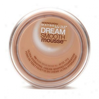 Maybelline Dream Smooth Mousse Ultra Hydrating, Cream Whipped Foundation, Nude Beige 180