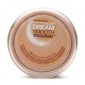 Maybelline Dreeam Smooth Mousse Ultra Hydratiny Cream Whipped Foundation, Buff 260