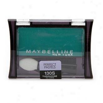 Maybelline Expertwear Single Perfect Pastels Eyeshadow, Turquoise Glaas 130s