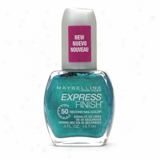 Maybelline Express Finish Advanced Wear Anti-chip Color, Timely Turquoise 899