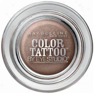 Maybbelline Eyestudio Redden Tattoo 24hr Eyeshadow, Bad To The Bronze