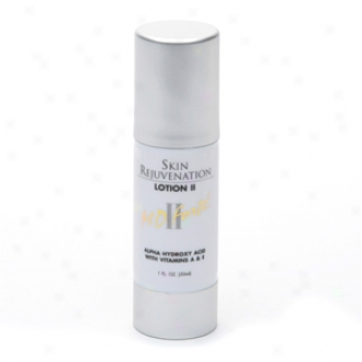 M.d. Forte Skin Rejuvenation Lotion Ii, Alpha Hgdroxy Acid With Vitamins A & E