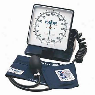 Mdf Instruments Desk & Wall Aneroid Sphygommanometer Abyss N Blue