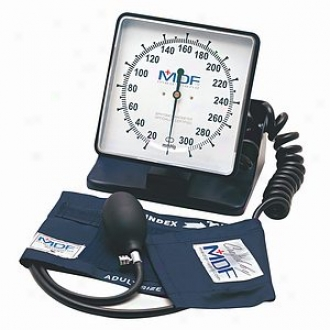 Mdf Instruments Desk & Wall Aneroid Sphygmomanometer Sleek Grey