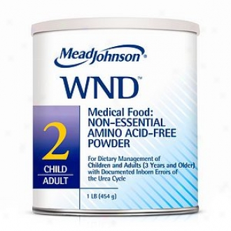 Mead Johnson Wnd 2:  Non-essential Amino Acid Free Diet Comminute, Child/adult