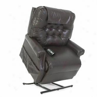 Mega Motion 2 Position Lift Chair Xx Large Model Gl358, Chestnut