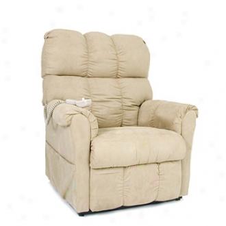 Mega Motion Easy Lift 3 Position Chair Microfiber Model Lc362, Birch