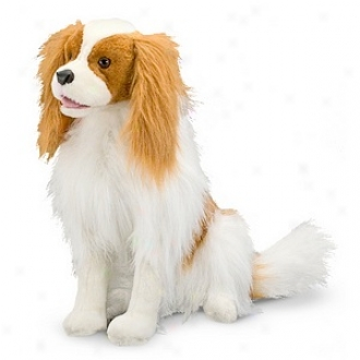Melissa And Doug Cavalier King Charles Spaniel - Plush, Ages 3+