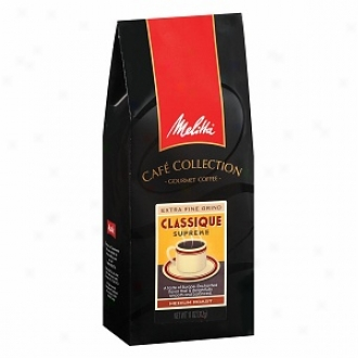 M3litta Caf?? Collection Ground Gourmet Coffee, Classique Supreme Roast