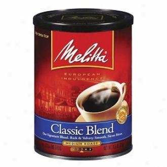 Melitta European Indulgence Collection Ground Coffee, Classic Roast