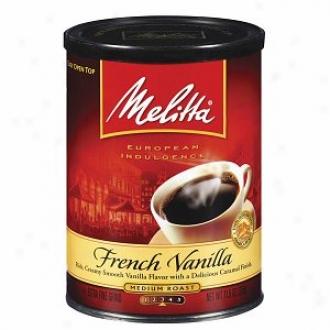 Melitta Europea Gratification Collection Ground Coffee, French Vanilla