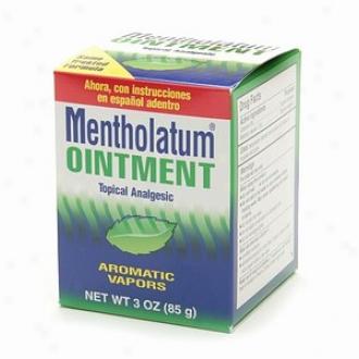 Mentholatum Ointment/topical Analgesic/aromatic Vapors