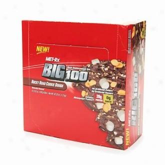 Met-rx Big 100 Colossal Meal Replacement Bars, Rocky Road Cookie Dough