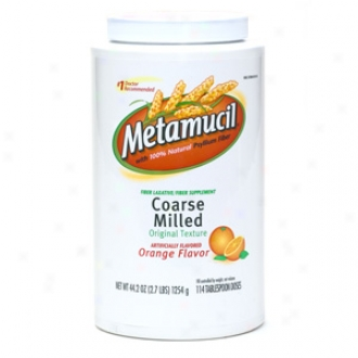 Metamucil Multihealyb Fiber, Coarse Fabric Powder, Oranhe