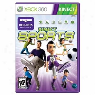 Microsoft Xbox 360 Kinect Sports By Microsoft